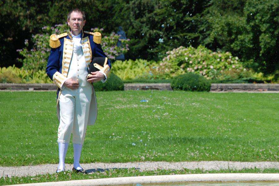 Britisher MarineAdmiral 1790 bis 1805 - Herr Lauber
