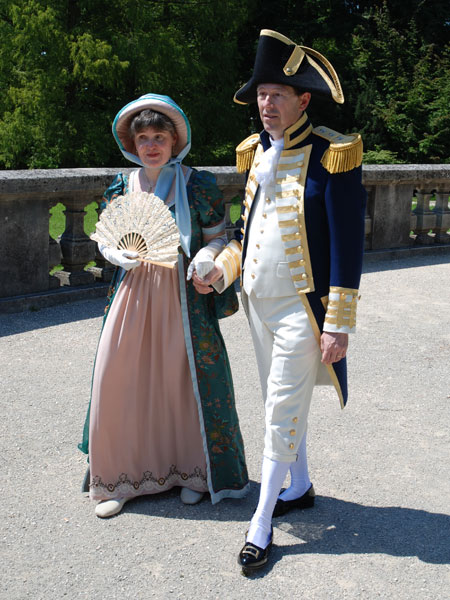 Britisher MarineAdmiral 1790 bis 1805 - Herr & Frau Lauber