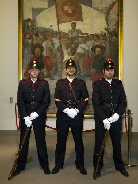 Historische Uniformen GWK Ordonnanz 1904
