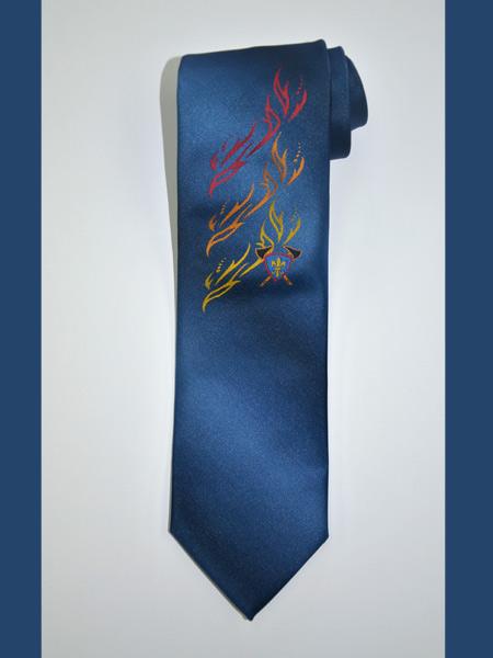 Eigendessin Krawatte - Feuerwehr Schlieren
