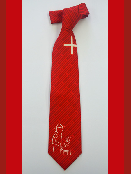 Eigendessin Krawatte - Tambouren Schwyz