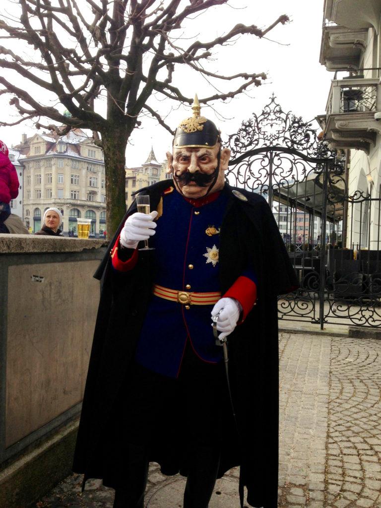 Preusen Uniform Luzerner Fasnacht